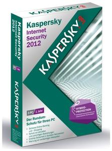 Kaspersky Internet Security 2012 3 User Windows, Deutsch, Mini-Box, 3 User (Article no. 90418176) - Picture #1