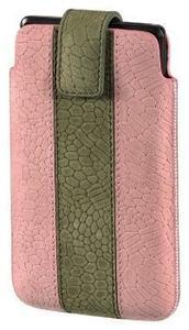 Hama Handy-Sleeve Chic Case Grösse L rosa/grün (Art.-Nr. 90419005) - Bild #1