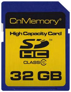 CnMemory SDHC Karte 32GB (item no. 90419353) - Picture #1