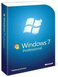 Windows 7 Professional 32bit SP1 Englisch (item no. 90420251) - Picture #1
