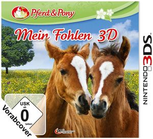 Mein Fohlen 3D Nintendo 3DS, Deutsche Version (Article no. 90420565) - Picture #1