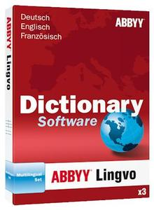 ABBYY Lingvo x3 Multilingual-Set EN/DE/FR (item no. 90420635) - Picture #1