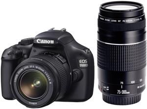 Canon EOS 1100D EF-S 18-55 EF 75-300 Kit (Article no. 90421161) - Picture #1