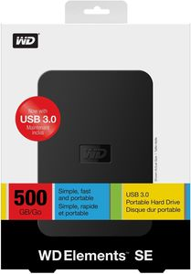 WD Elements Portable SE 500GB (Article no. 90421525) - Picture #3