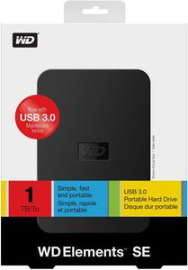 WD Elements Portable SE 1TB (Article no. 90421528) - Picture #3
