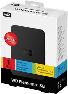 WD Elements Portable SE 1TB (Article no. 90421528) - Picture #2