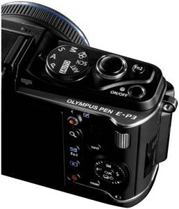 Olympus PEN E-P3 Body schwarz (Article no. 90422205) - Picture #3