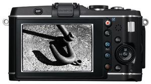 Olympus PEN E-P3 Body schwarz (Article no. 90422205) - Picture #5