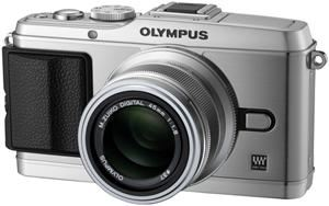 Olympus PEN E-P3 14-42mm Kit silber (item no. 90422207) - Picture #3