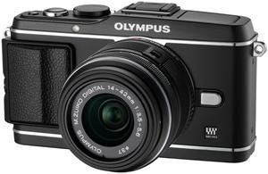 Olympus PEN E-P3 14-42mm Kit schwarz (Article no. 90422208) - Picture #2