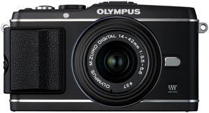 Olympus PEN E-P3 14-42mm Kit schwarz (Article no. 90422208) - Picture #4