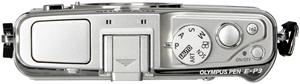 Olympus PEN E-P3 17mm Pancake Kit silber (Article no. 90422213) - Picture #5