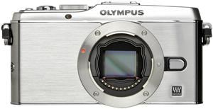 Olympus PEN E-P3 17mm Pancake Kit silber (Article no. 90422213) - Picture #4