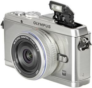 Olympus PEN E-P3 17mm Pancake Kit silber (Article no. 90422213) - Picture #1