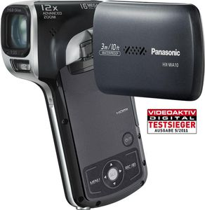 Panasonic HX-WA10 schwarz (Article no. 90422568) - Picture #1