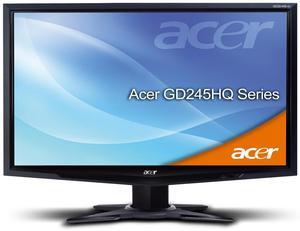 Acer GD245HQAbid schwarz inkl. 3D Brille (Art.-Nr. 90422798) - Bild #2