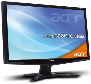 Acer GD245HQAbid schwarz inkl. 3D Brille (Art.-Nr. 90422798) - Bild #1