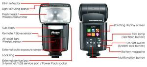 Nissin Speedlite Di866 Mark II (item no. 90424281) - Picture #2