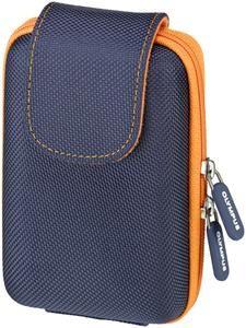Olympus TRHC-120 Traveller Hard Case blau/orange, (Article no. 90424327) - Picture #1