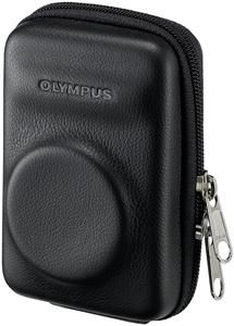 Olympus TRHLC-120 Traveller Hard Leather Case schwarz, (Article no. 90424328) - Picture #1