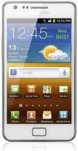 Samsung Galaxy S2 i9100 Android weiß