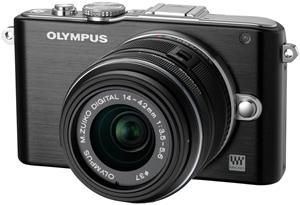 Olympus PEN E-PL3 1442 Kit schwarz/schwarz (Article no. 90426232) - Picture #1