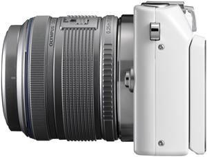 Olympus PEN E-PL3 1442 Kit  white/silver (Article no. 90426234) - Picture #4