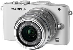 Olympus PEN E-PL3 1442 Kit  white/silver (Article no. 90426234) - Picture #1