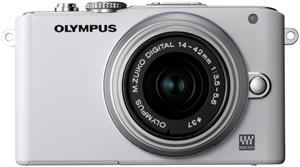 Olympus PEN E-PL3 1442 Kit  white/silver (Article no. 90426234) - Picture #2