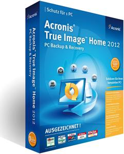 Acronis True Image Home 2012 Windows, englisch, Mini-Box
