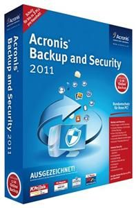 Acronis Backup & Security 2011 (item no. 90426416) - Picture #1