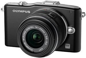 Olympus PEN E-PM1 14-42 Kit black (item no. 90427880) - Picture #3