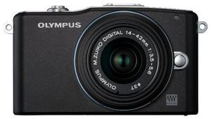 Olympus PEN E-PM1 14-42 Kit black (item no. 90427880) - Picture #1