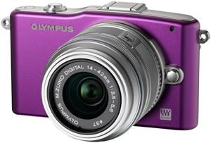 Olympus PEN E-PM1 14-42 Kit purple (item no. 90427883) - Picture #1
