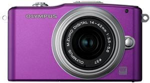 Olympus PEN E-PM1 14-42 Kit purple (item no. 90427883) - Picture #3