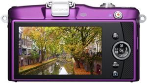 Olympus PEN E-PM1 14-42 Kit purple (item no. 90427883) - Picture #2