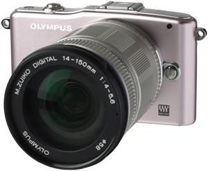 Olympus PEN E-PM1 14-150 Kit silver/rose (Article no. 90427888) - Picture #1