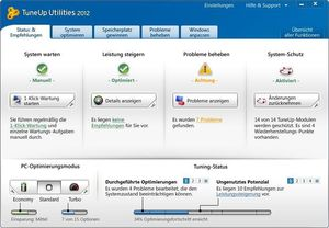 TuneUp Utilities 2012 (5-Platz) (Article no. 90428729) - Picture #3
