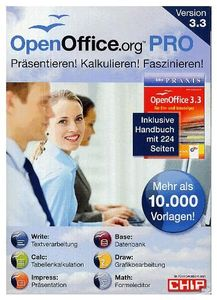 Open Office V3.3 Pro für Ein- und (Article no. 90428745) - Picture #1