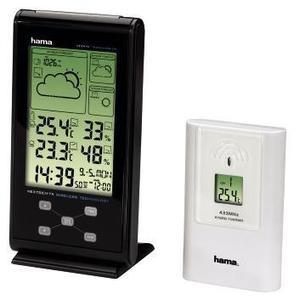 Hama EWS-385 Elektronische Wetterstation schwarz (Art.-Nr. 90429481) - Bild #1
