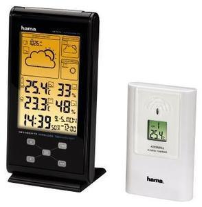 Hama EWS-385 Elektronische Wetterstation schwarz (Art.-Nr. 90429481) - Bild #2