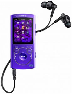 Sony NWZ-S764 8GB violett (Article no. 90430716) - Picture #1