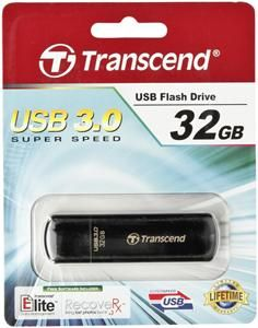 Transcend JetFlash 700 USB3.0 32GB, schwarz (Article no. 90430980) - Picture #1