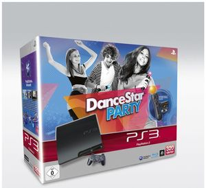 Sony PlayStation 3 slim 320 GB (K-Model) + Move StarterPack + Dance Star Party (Art.-Nr. 90431300) - Bild #1