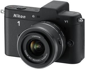 Nikon 1 V1 Kit VR 10-30 schwarz (Art.-Nr. 90432162) - Bild #2
