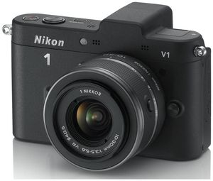 Nikon 1 V1 Kit VR 10-30 schwarz (Art.-Nr. 90432162) - Bild #3