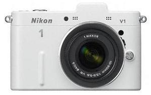 Nikon 1 V1 Kit 10 Pancake EU-Ware weiß (Article no. 90432165) - Picture #1