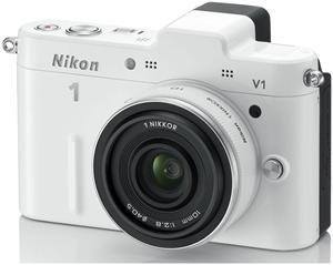 Nikon 1 V1 Kit 10 Pancake EU-Ware weiß (Article no. 90432165) - Picture #5