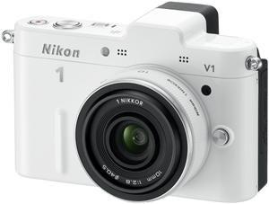 Nikon 1 V1 Kit 10 Pancake EU-Ware weiß (Article no. 90432165) - Picture #3