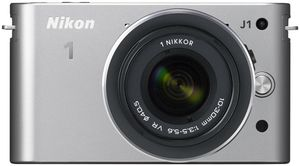 Nikon 1 J1 Kit VR 10-30 silber (item no. 90432173) - Picture #1